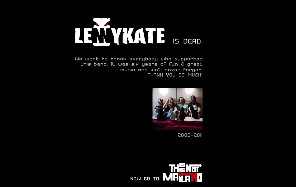 lennykate is dead